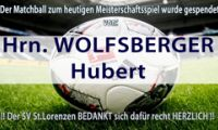 WOLFSBERGER Hubert
